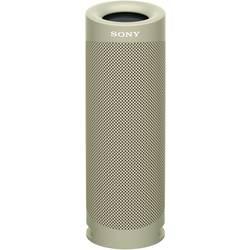 Sony SRS-XB23 Bluetooth® zvočnik vodoodporen, zunanji zvočnik, odporen na udarce, odporen na prah bež