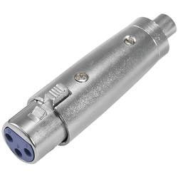 Omnitronic 30226564 XLR adapter [1x ženski cinch konektor - 1x XLR vtičnica 3-polna]
