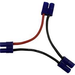 Reely kabel za akumulator [1x ženski konektor-t - 2x moški konektor-t] 10.00 cm