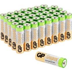 GP Batteries Super mignon (aa)-baterija alkalno-manganov 1.5 V 40 kos