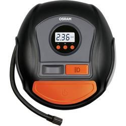 Osram Auto OTI450 kompresor 12 v adapter za kabelsko delovanje, digitalni prikaz , nosilec za kabel, z delovno svetilko, zaščita