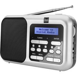 Dual DAB 4.2 namizni radio DAB+, dab, UKW DAB+, UKW srebrna