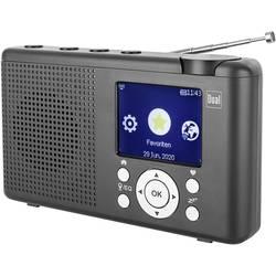 Dual MCR 200 spletni namizni radio internet, DAB+, dab, UKW internetni radio, DAB+, UKW, USB, Bluetooth, WLAN črna