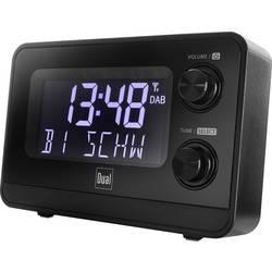 Dual DAB CR 10 radijska ura DAB+, UKW DAB+, UKW črna