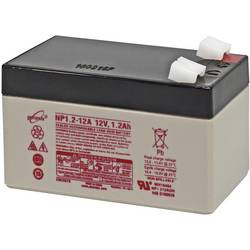 EnerSys Hawker Genesis NP1.2-12 svinčeni akumulator 12 V 1.2 Ah svinčevo-koprenast (Š x V x G) 97 x 56 x 48 mm ploščati vtič, 6,