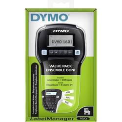 DYMO Labelmanager 160 tiskalnik nalepk Primerno za pisalni trak: d1 12 mm, 9 mm, 6 mm