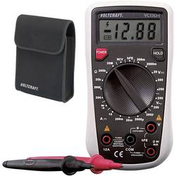 Hånd-multimeter digital VOLTCRAFT VC130-1 Fabriksstandard CAT III 250 V