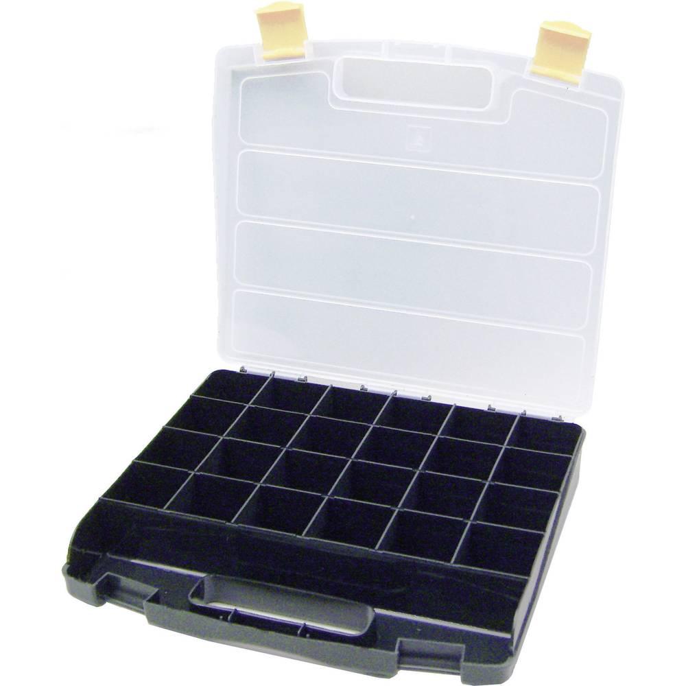 Sortirni kovček (D x Š x V) 340 x 230 x 55 mm VISO št. predalov: 24 fiksna pregraditev