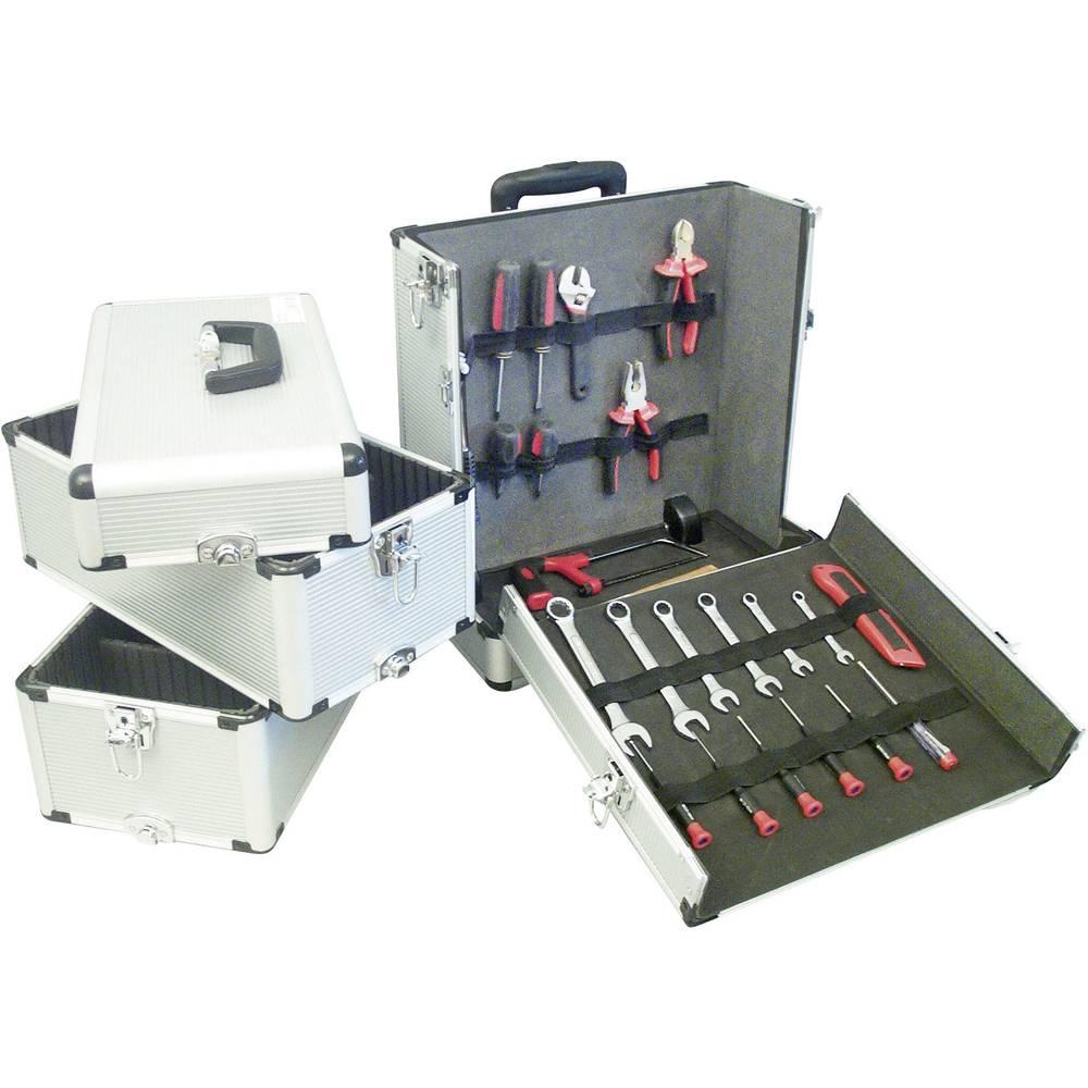 Univerzalni kovček za orodje, brez vsebine 3 delni VISO SGC 8394 (D x Š x V) 410 x 220 x 780 mm