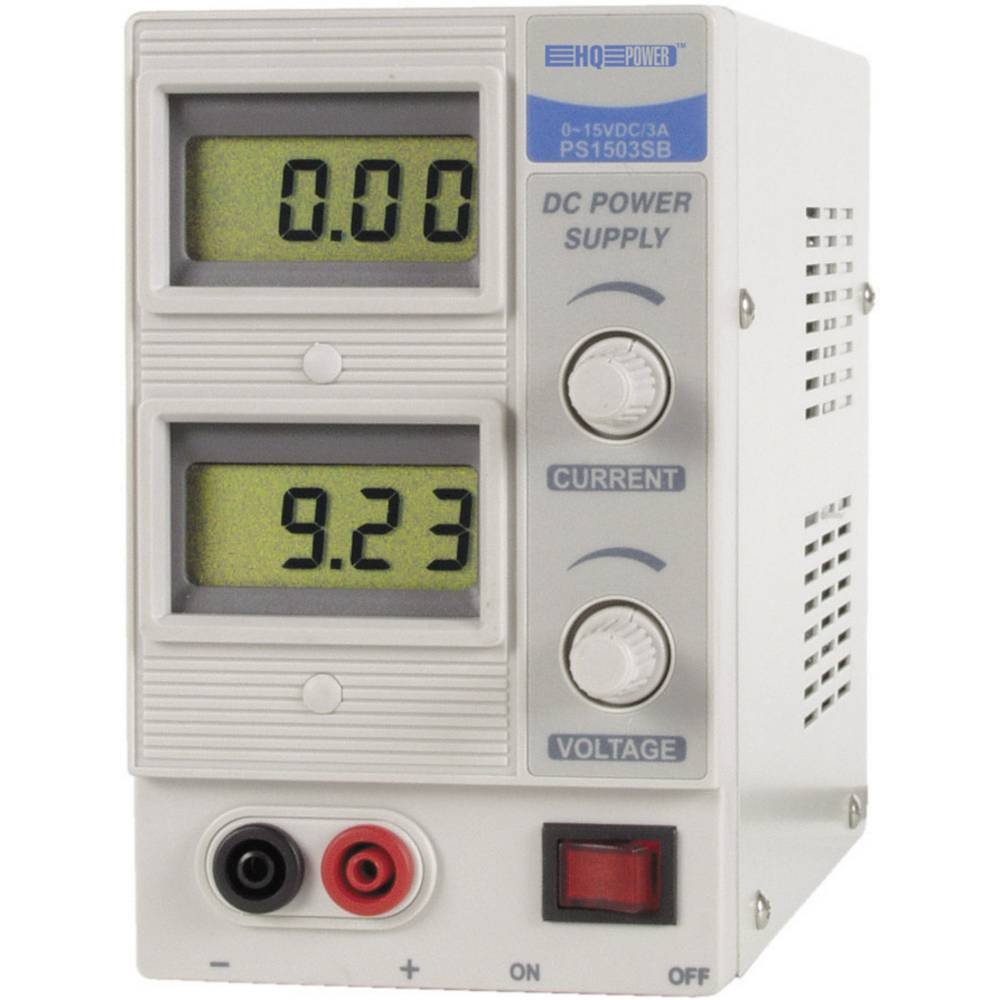 Laboratorijski napajalnik Velleman HQ-power PS1503SB 0 - 15 V/DC 0 do 3 A