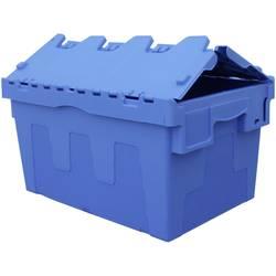 VISO DSW5536 škatla s poklopnim pokrovom (Š x V x G) 600 x 320 x 400 mm modra 1 KOS