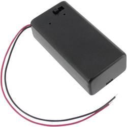 baterije - držač 1x 9 V block (D x Š x V) 69 x 33 x 21 mm Velleman BH9VBS
