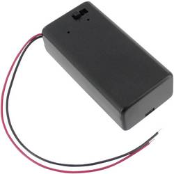 Velleman BH9VBS nosilec baterij 1x9 v blok (D x Š x V) 69 x 33 x 21 mm