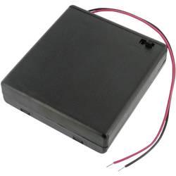 Velleman BH341BS nosilec baterij 4xmignon (aa) (D x Š x V) 69 x 65 x 19 mm