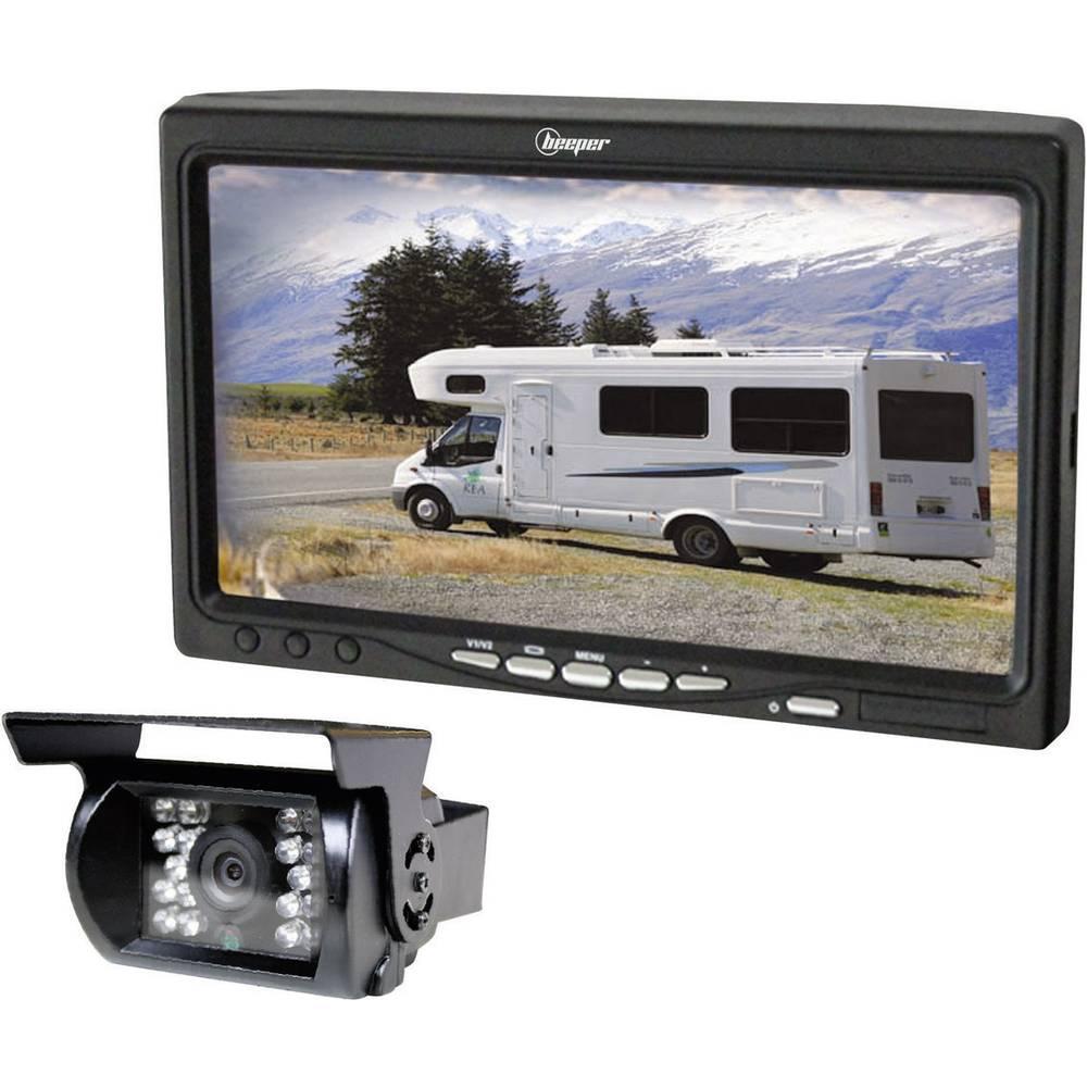 Beeper RWEC99X Kabelski vzvratni video sistem 2 vhoda za kamere, Integriran mikrofon Gradnja