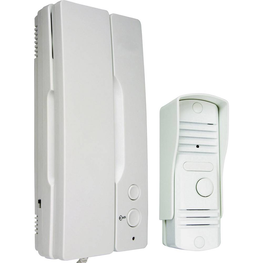 Smartwares IB11 Vratni domofon Kabelska povezava Popoln komplet 1-družinska hiša Bela