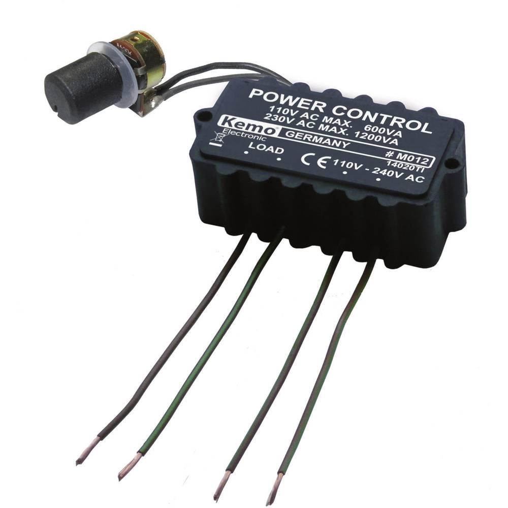 Močnostni regulator - modul Kemo M012 110 V/AC, 230 V/AC 3 A