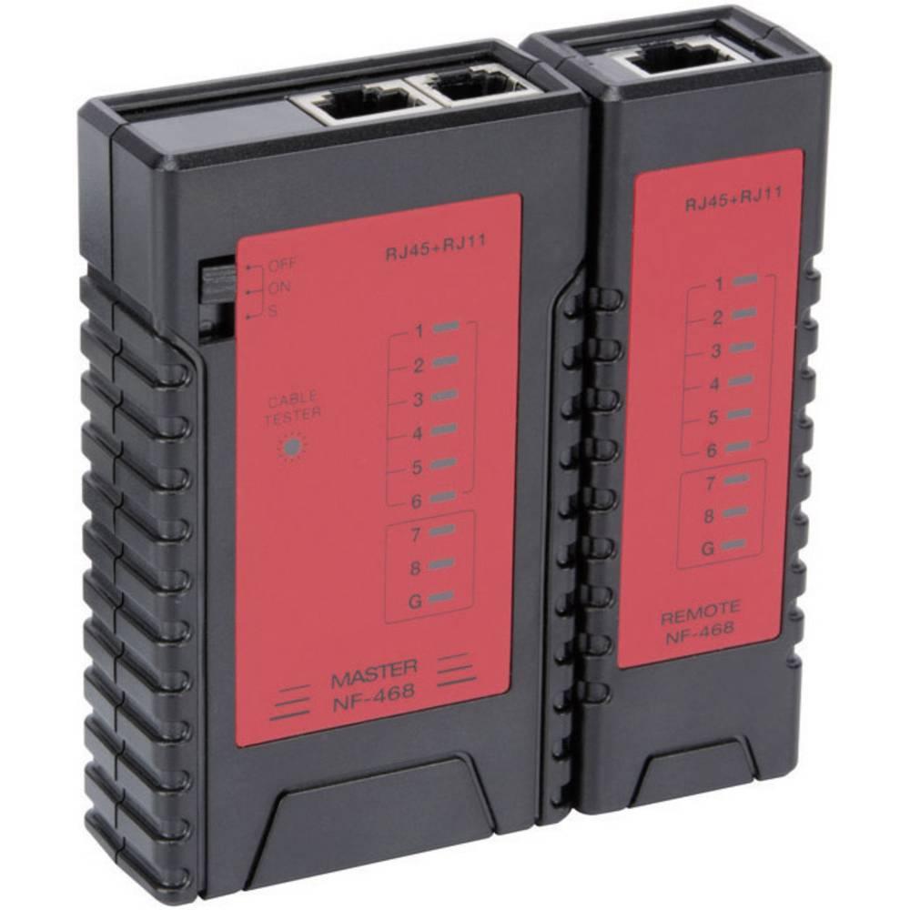 LAN tester za RJ45, RJ12, RJ11, RJ10 Velleman VTLAN6