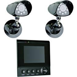 Smartwares Analog Overvågningskamera-sæt (value.1814292) 2-kanals Med 2 kameraer CS72SEC