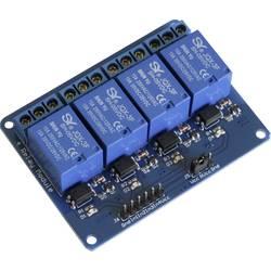 SEEIT SMTRELAY04 1 kos Primerno za: Arduino, Raspberry Pi, pcDuino