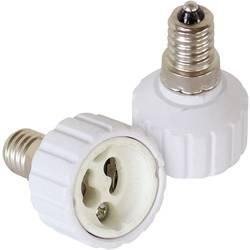 Adaptersko podnožje za žarnico E14 2-delni komplet 230 V 100 W