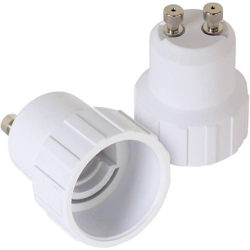 Adaptersko podnožje za žarnico GU10 2-delni komplet 230 V 100 W