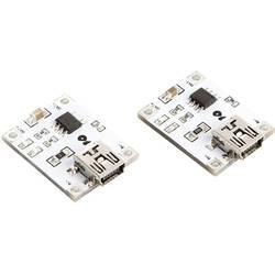 Velleman Laddningsmodul VMA321 Passar till: Arduino, Arduino UNO, Fayaduino, Freeduino, Seeeduino, Seeeduino ADK, pcDuino
