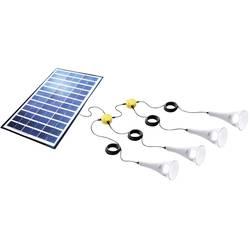 Sundaya T-Lite Lightkit 4 350070 solarni komplet 14 Wp s štirimi svetilkami, vklj. priključni kabel