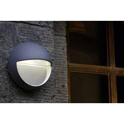 LED-Zunanja stenska svetilka 3 W nevtralno bela ECO-Light LED-Design svetilka Radius 1865 SI srebrna