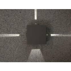 LED-Zunanja stenska svetilka 12 W nevtralno bela ECO-Light LED-Design svetilka Evans 1863 GR EVANS antracitna