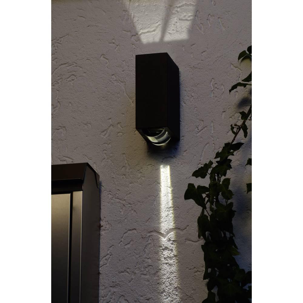 LED-Zunanja stenska svetilka 2 W nevtralno bela ECO-Light LED-Design svetilka Evans 1862 GR antracitna