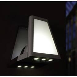 LED-Zunanja stenska svetilka 12 W nevtralno bela ECO-Light LED-Design svetilka LEDLANTERN 1874 S GR antracitna