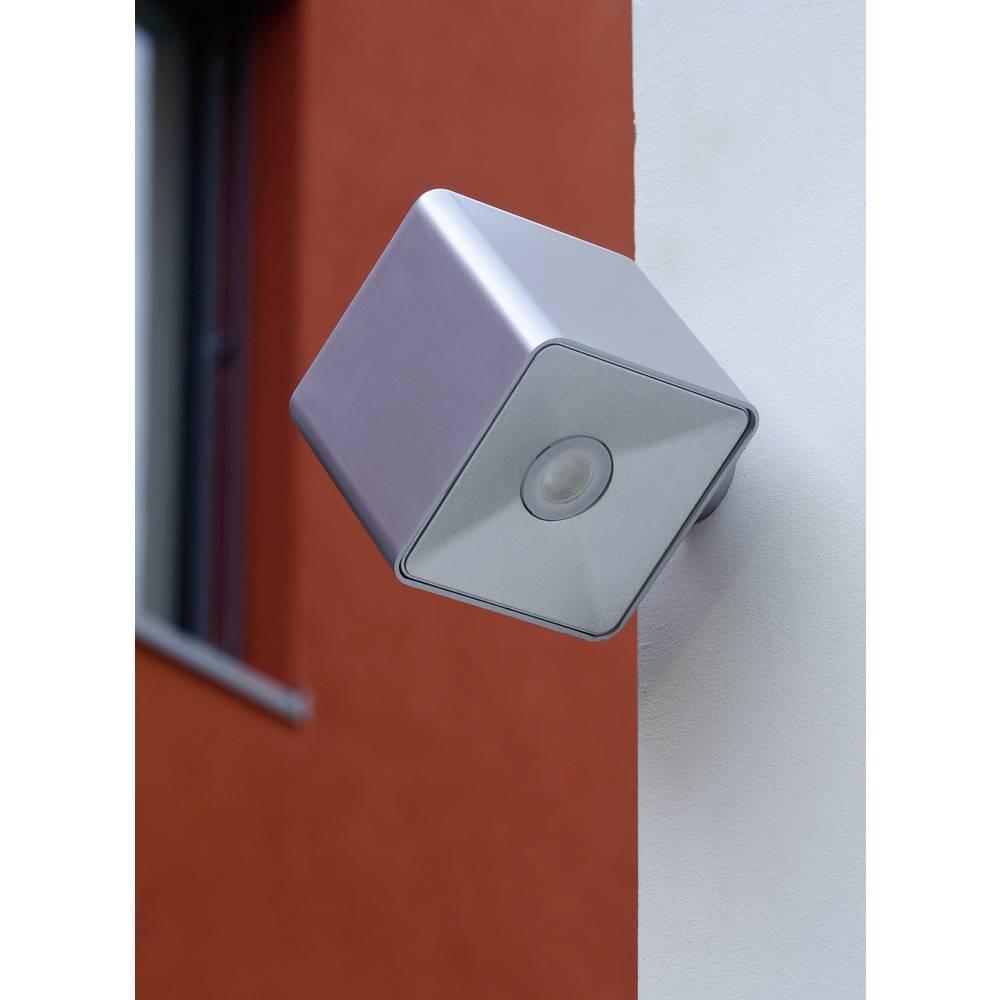 LED-Zunanja stenska svetilka 3 W nevtralno bela ECO-Light LED-Design svetilka PIXEL 1867 SI srebrna