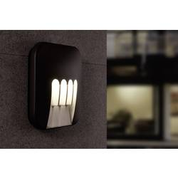 LED-Zunanja stenska svetilka 12 W nevtralno bela ECO-Light LED-Design svetilka MASK 1872 GR antracitna