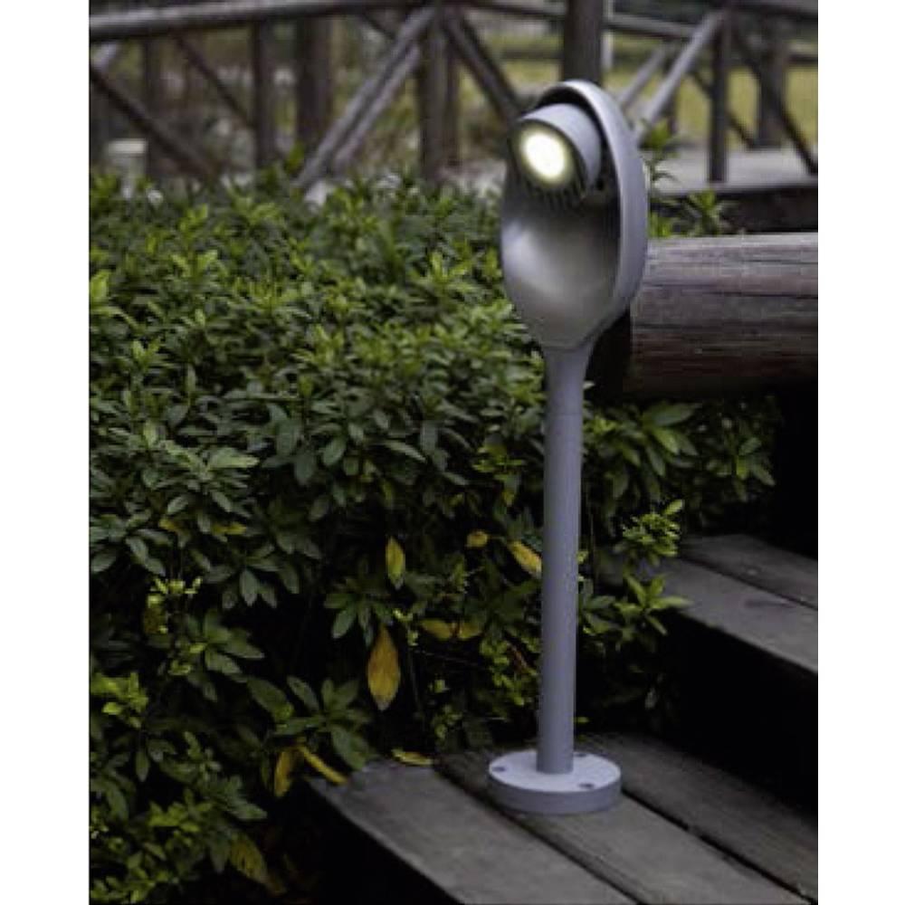 LED-Zunanja stoječa svetilka 3 W hladno-bela ECO-Light 6161-580 gr Eggo antracitna