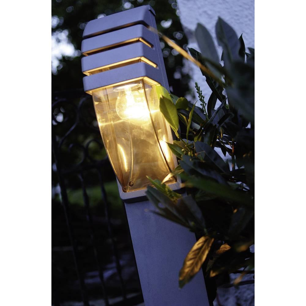 Zunanja stoječa svetilka 60 W Neutral-bela ECO-Light City antracitna 11836 R GR