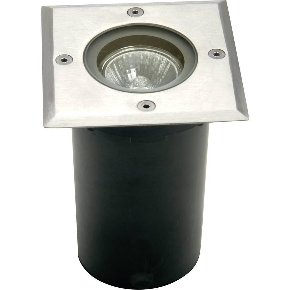 Vanjska ugradbena svjetiljka GU10 halogena 35 W ECO-Light 7005 B-GU10 srebrna