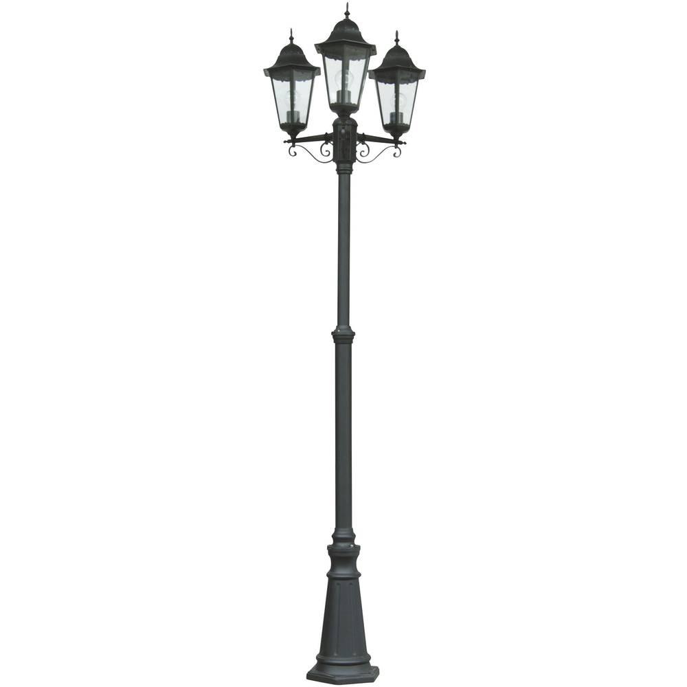 Zunanja stoječa svetilka energijsko varčna žarnica ECO-Light Bristol črna 31331 LB SW