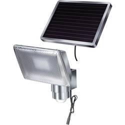 Solarni reflektor s senzorjem gibanja 4 W hladno bela Brennenstuhl 1170840 SOL 80 srebrne-sive barve