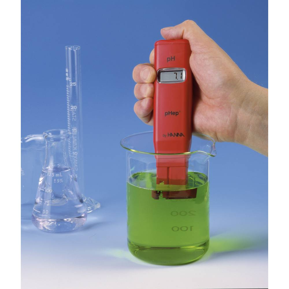 Hanna Instruments HI 98107 PHEP Merilnih pH-vrednosti pHepRdvotočkovno kalibriranje 0 Ă