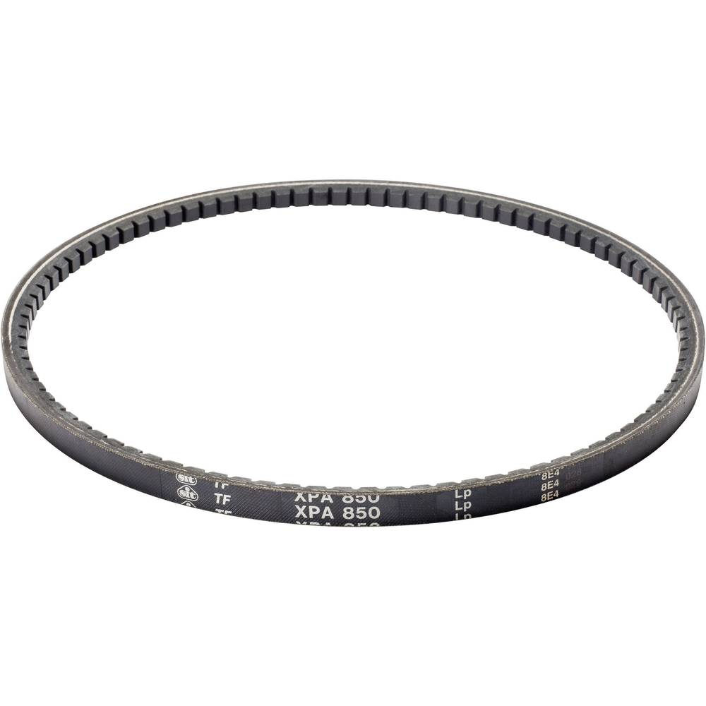 Klinasti jermen SIT XPZ1140 skupna dolžina: 1140 mm širina prereza:: 9.7 mm višina prereza:: 8 mm primeren za: Klinasti škripec