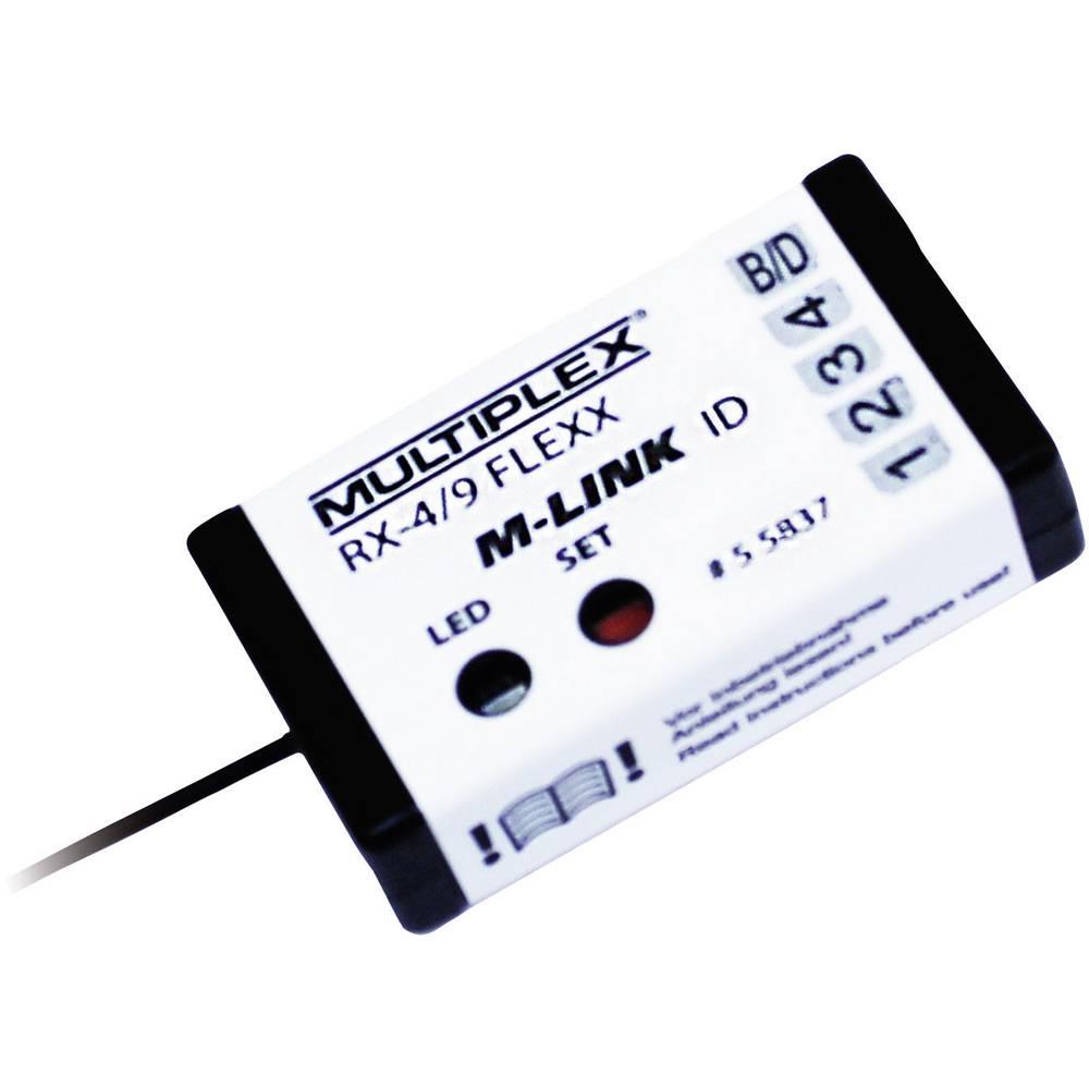 Multiplex (55837) 4-kanalni sprejemnik 2.4 GHz FHSS z vtičnim sistemom Uni