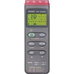 VOLTCRAFT K204 mjerač temperature Kalibriran po (dakks) -200 Do +1370 °C Tip tipala K funkcija pohrane podataka