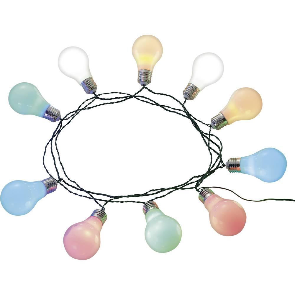Osvetljava za zabavo, Renkforce solarna svetlobna veriga za zabave, 10-delna, 13-C002-SL