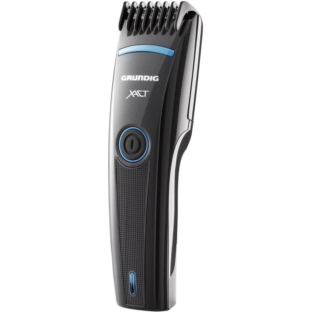 Aparat za striženje las in brade Grundig MC3340 pralni, črna (svetleča), modra