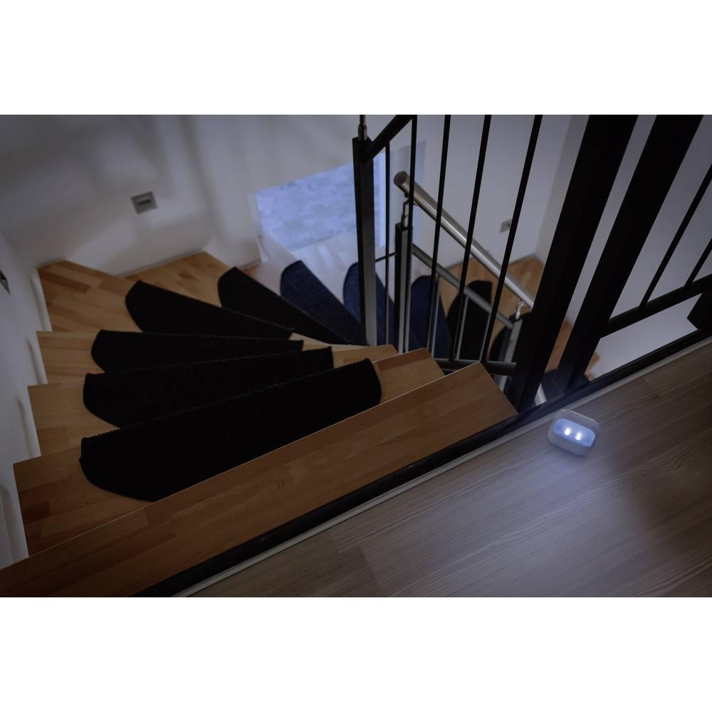 Nočna lučka ovalna LED hladna bela Renkforce Kim bela