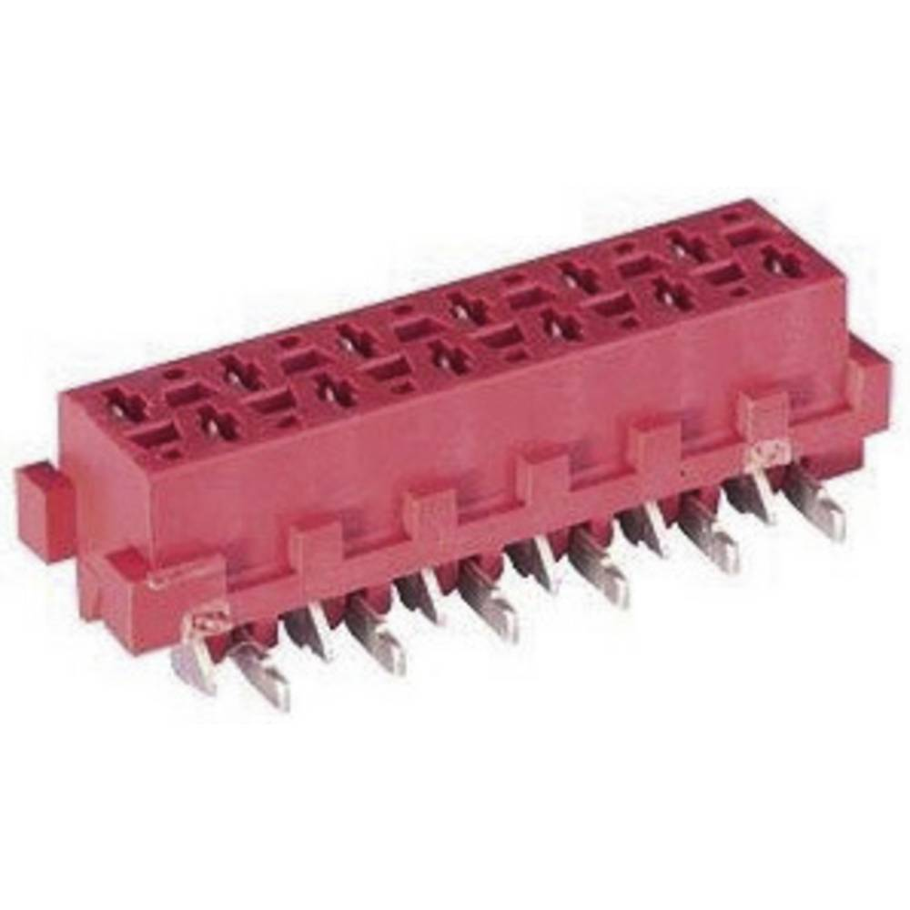 Tilslutningskabinet-printplade Micro-MaTch Samlet antal poler 12 TE Connectivity 8-188275-2 Rastermål: 1.27 mm 1 stk