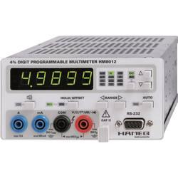 Digitalni namizni multimeter Hameg HM8012 CAT II 600 V št. mest na zaslonu: 50000