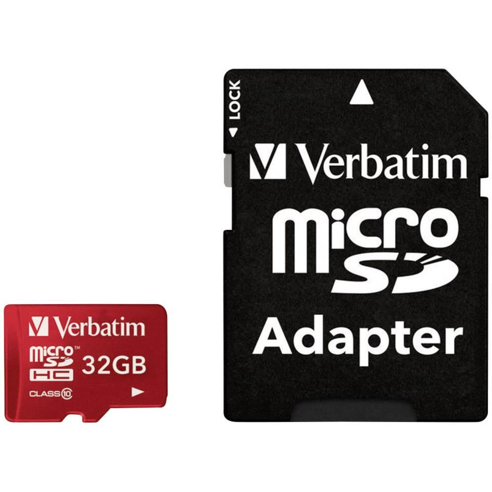 microSDHC kartica Verbatim Tablet Class 10 UHS-I uklj. SD-adapter 32 GB