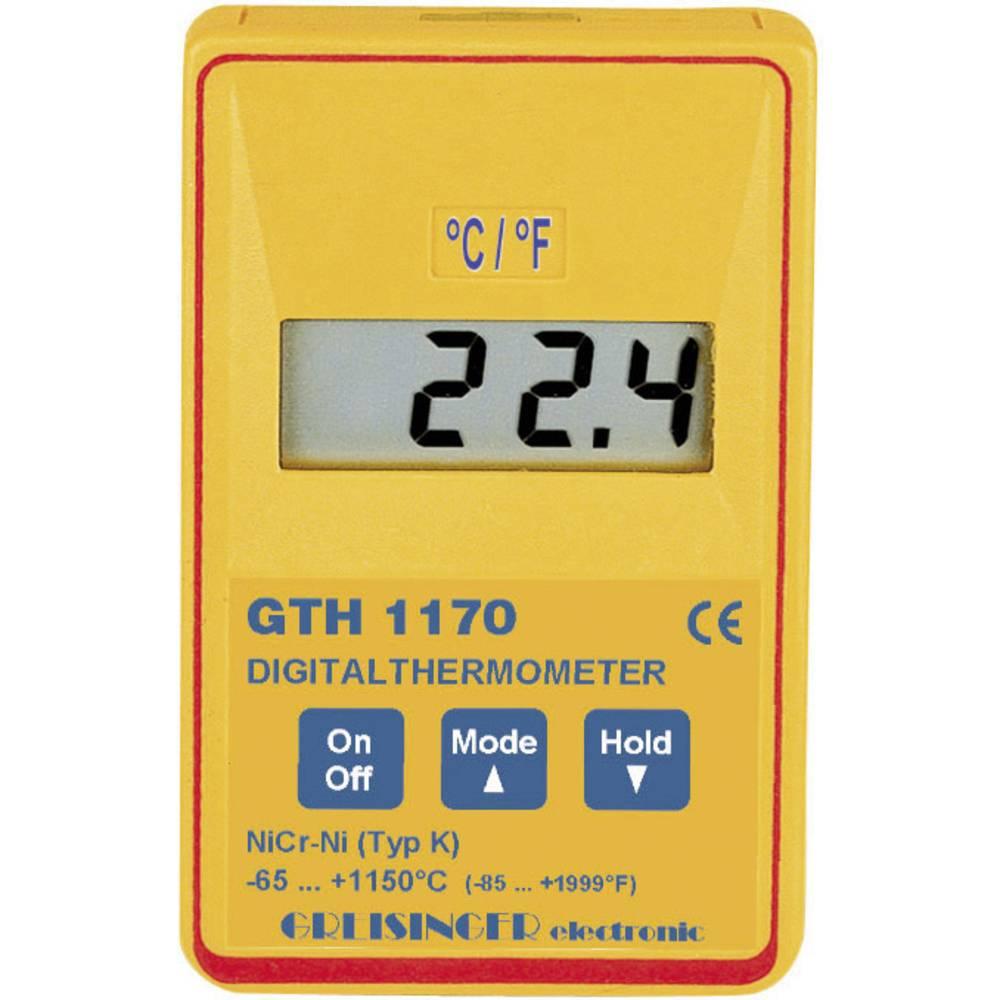 Temperaturmätare Greisinger GTH 1170 -65 till +1150 °C Sensor K